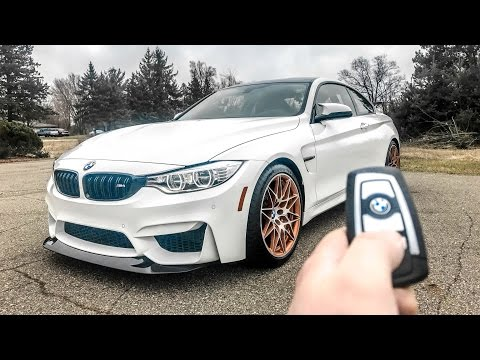 What It's Like To Drive The '17 BMW M4 GTS!