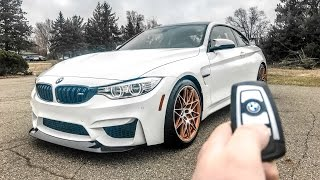 what it s like to drive the 17 bmw m4 gts