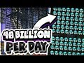 THIS IG FARM MAKES 40 BILLION DOLLARS A DAY| Minecraft Skyblock | VanityMC | [6]