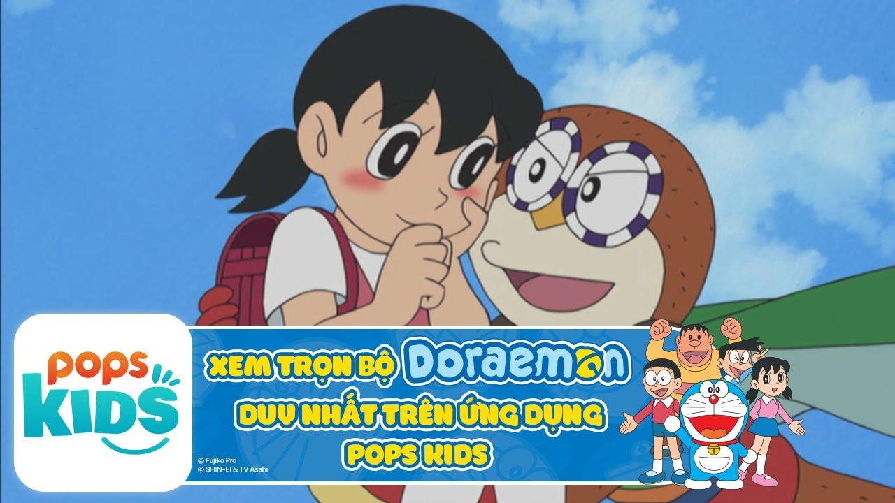 [S6] Hoạt Hình Doraemon - Siêu Nhân Cú Mèo - Xem trọn bộ DORAEMON trên ỨNG DỤNG POPS Kids