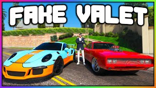 GTA 5 Roleplay - FAKE VALET STEALS CARS AT PARTY | RedlineRP