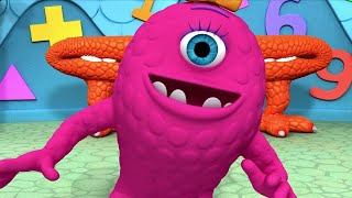 Monsters   Monsters at Play   Kids Learn Math for Kids   Educational Cartoons
