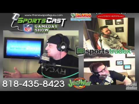 """SPORTSCAST """"NFL GAMEDAY SHOW"""": EP 200 (1-2-15) – FIRST SHOW OF 2015 & WILD CARD WEEKEND PREDICTIONS"""
