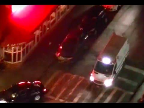 North Shore Ambulance responding on the Upper East Side of Manhattan