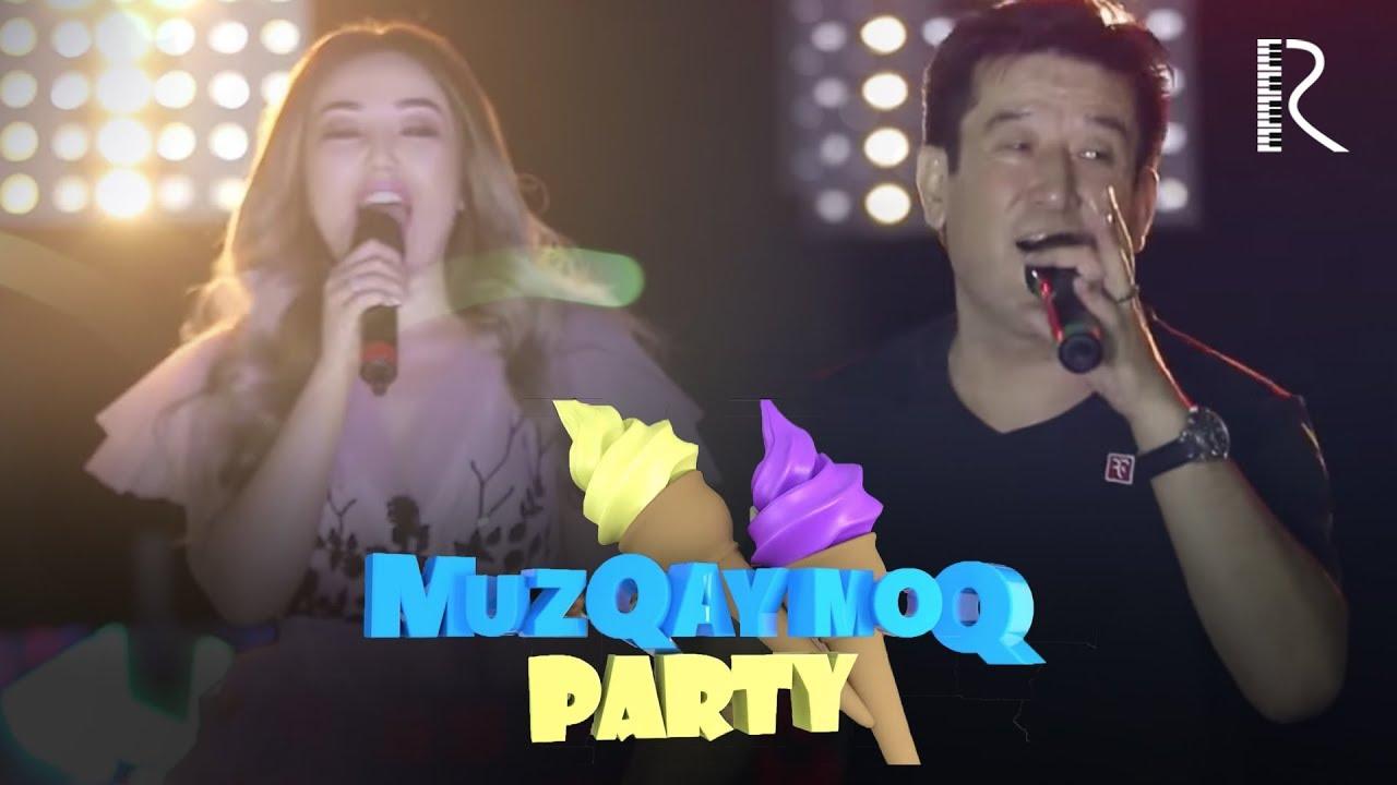 Muzqaymoq party - Shahzod Murodov jonli kuylash jarayonida nega mikrafoni o'chib qoldi