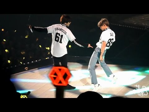 161127 The EXO'rDIUM in TAIPEI - Lucky One (LAY CHANYEOL KAI Focus)
