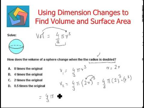 Using dimension changes to find volume and surface area youtube ccuart Choice Image