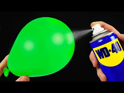 12 AWESOME LIFE HACKS WITH WD 40