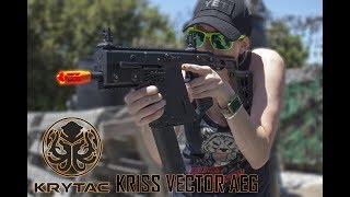 First Look - Krytac Vector AEG!