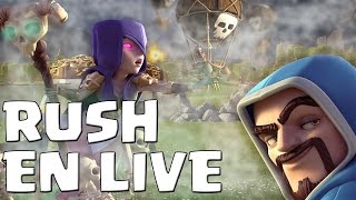 RUSH TITAN EN LIVE/Go champion 2 ! Clash of Clans Fr