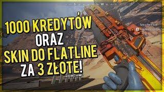 1000 KREDYTÓW oraz SKIN DO FLATLINE za 3 ZŁOTE! - Apex Legends PORADNIK!