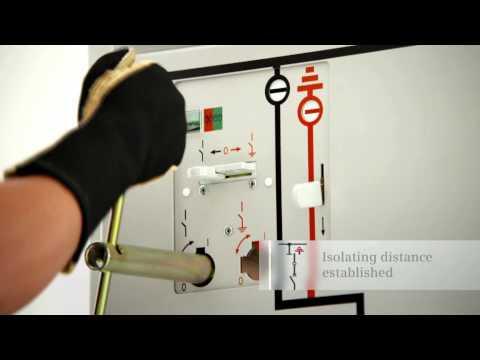 Siemens GIS NXPlusC circuit-breaker panel - YouTube