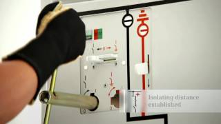 Siemens GIS NXPlusC circuit-breaker panel