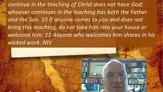 Lesson 7 2 John 9-11 June 2, 2020