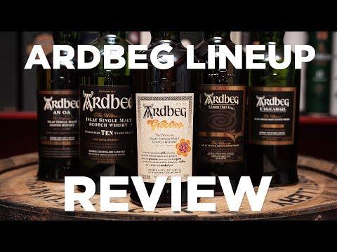 Review: Ardbeg Lineup