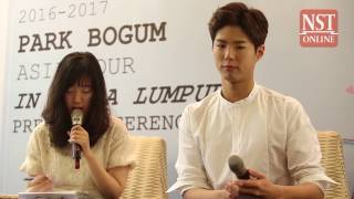 Park Bo-gum touched by Malaysians