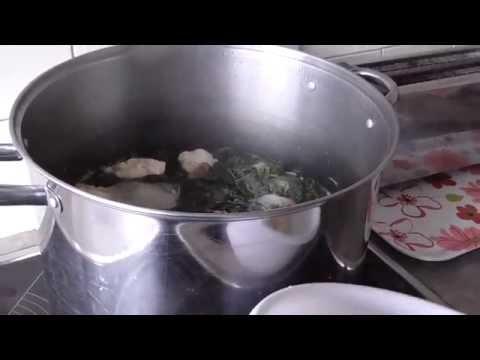 Week End Boil Up with Brisket, Potatoes, Poroporo (Raupeti) and Dough Boys