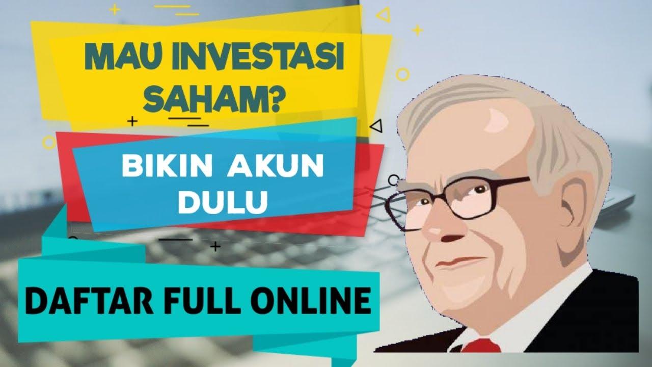 Cara Daftar Investasi Saham Online di BNI Sekuritas - YouTube
