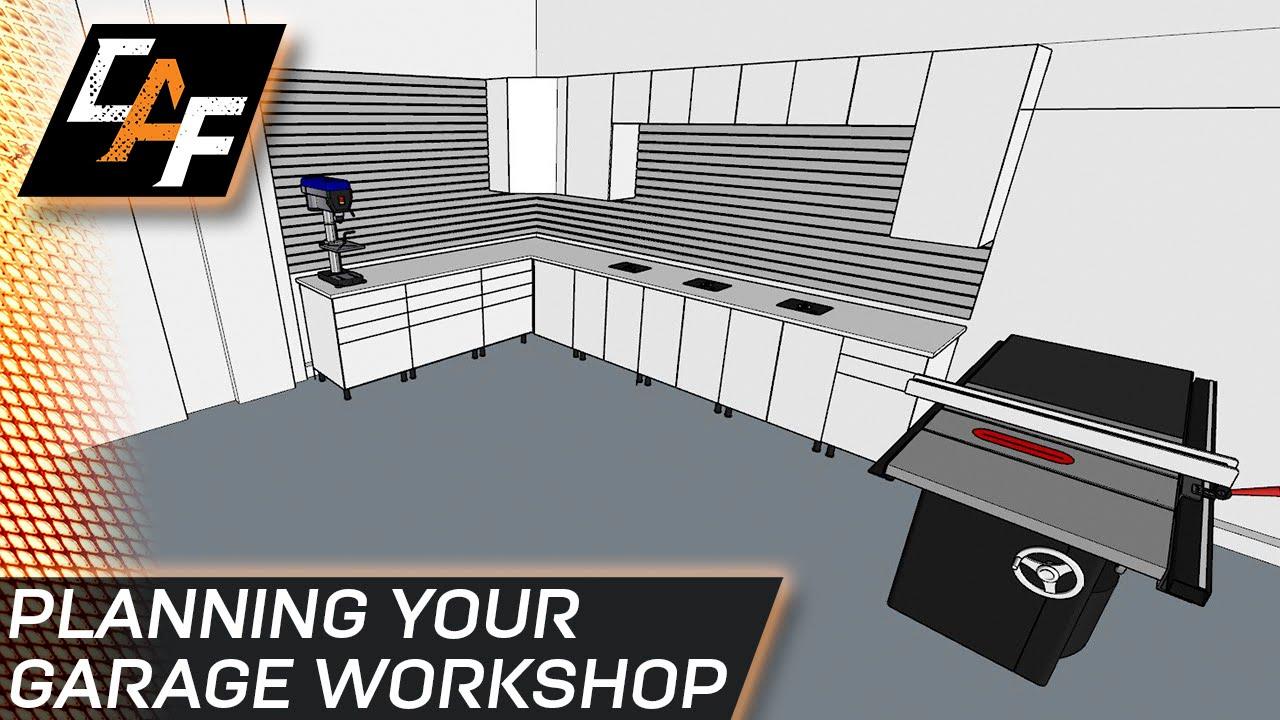 Fast and easy planning garage workshop for Garage layout software
