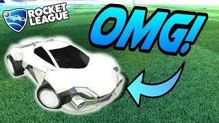 Rocket League Gameplay: WHITE WEREWOLF ULTIMATE BUILD! - Funny Moments/1v1 Goals
