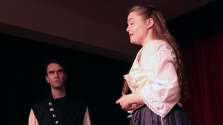 Love and Despair Program 2: Desdemona clip 1, Othello Act 4 Scene 2 (1st Confrontation) (3pm show)