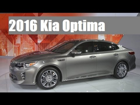 2016 Kia Optima Live Photos At 2015 New York International Auto Show !    YouTube