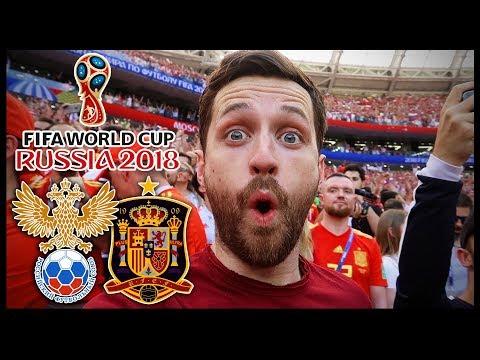 SPAIN vs RUSSIA!