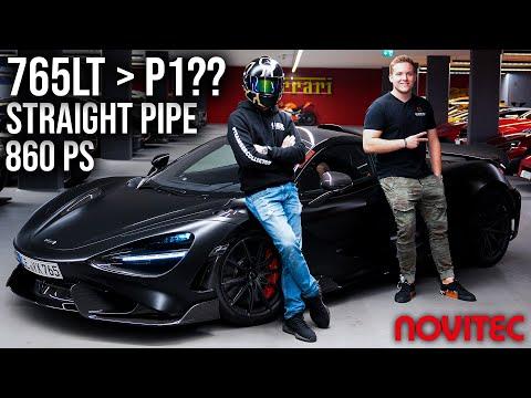 Ich fahre den neuen McLaren 765LT | 860PS Novitec Tuning!! Schneller als der McLaren P1?!
