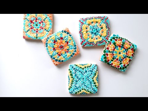 How To Decorate Mosaic Cookie!