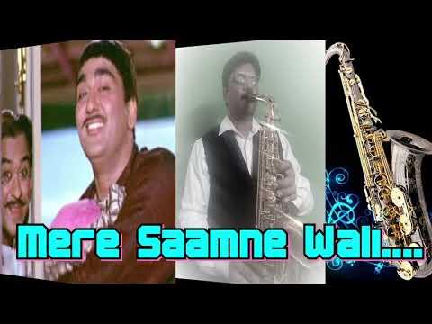 #272:- Mere Saamne Wali Khidki Mein | Padosan |Kishore Kumar | Best Bollywood Saxophone Instrumental