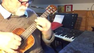 You're My World - solo ukulele - Colin Tribe on LEHO