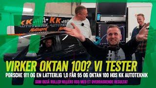 Test af Oktan 100 - giver højoktan benzin flere hestekræfter? Vi måler tre biler inkl. Nillers RS6