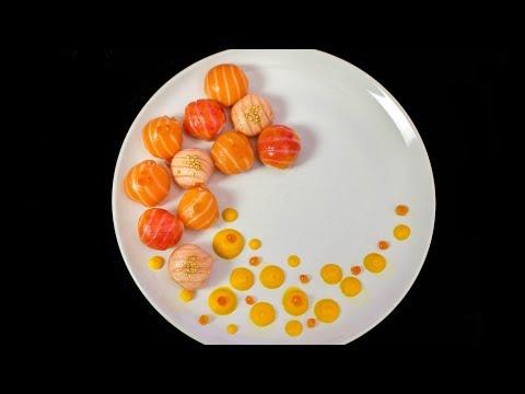 Salmon Ballz Sushi 'temari sushi'