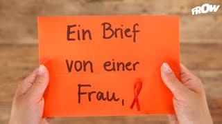 Ein Brief von einer Frau, die mit HIV geboren wurde