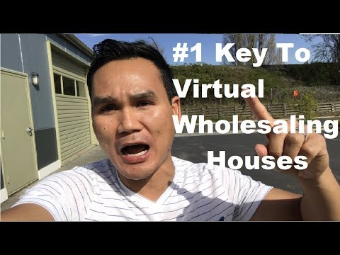 What Is The Most Important Skill You Need To Learn To Be Able To Virtually Wholesale Houses?