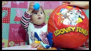 ❤ Гигантское яйцо Луни Тюнз mega big egg Looney Tunes