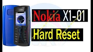 Nokia X1-01 Security Code Unlock Hard Reset With 4 Button