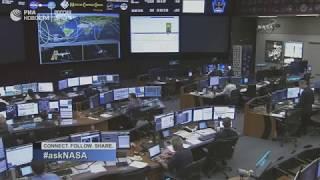 55-я экспедиция МКС возвращается на Землю. Посадка.