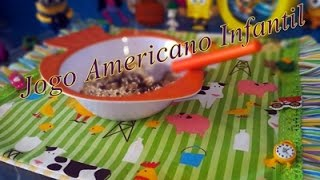 Jogo Americano Infantil