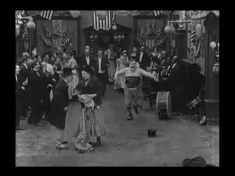 Fatty Arbuckle   Hilarious Chase    The Waiters' Ball 1916