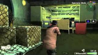 FTB3 (Socom Fireteam Bravo 3) Online Match (Leader) PSP Gameplay