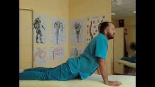 Упражнения при грыже шейного и поясничного отдела позвоночника, Exercises with spinal hernia(Боли в шее, отдающие в плечо и руку могут измотать даже самого терпеливого человека, потому что они мешают..., 2015-09-11T10:27:47.000Z)