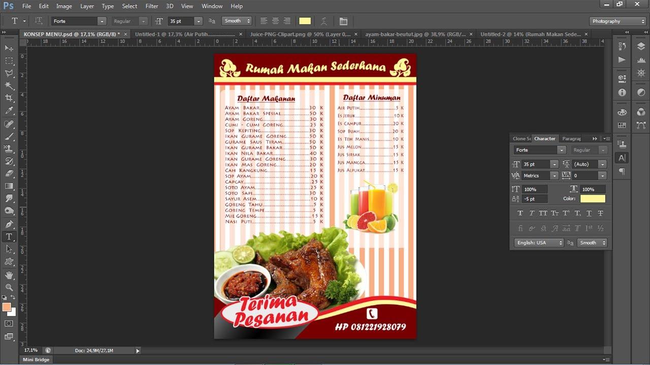 Membuat Desain Label Makanan di CorelDRAW