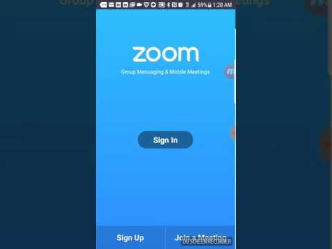 How to download zoom cloud meeting app on phone