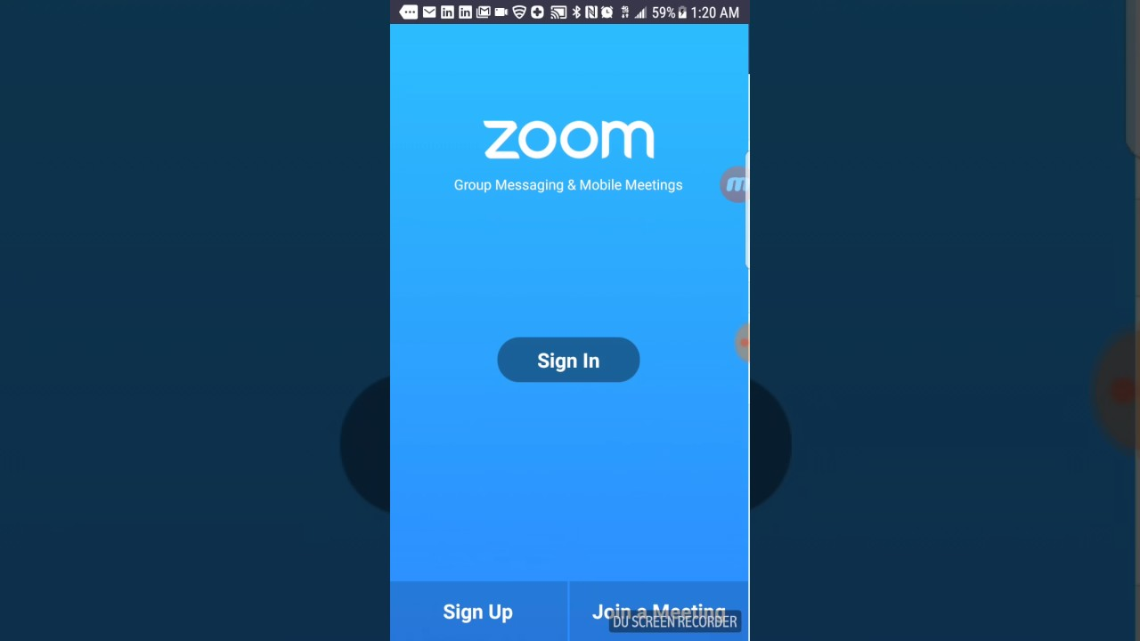 How to download zoom cloud meeting app on phone - YouTube