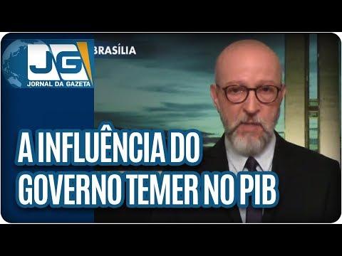 Josias de Souza/A influência do governo Temer no resultado do PIB