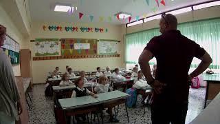 Primo giorno di scuola della prima B elementare (scuola primaria) anno 2015