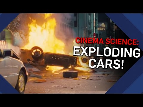 Do Cars Really EXPLODE On Impact?   Brit Lab