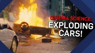 Do Cars Really EXPLODE On Impact? | Brit Lab