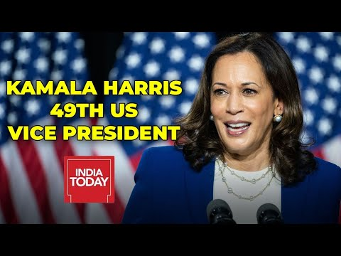 Kamala Harris Sworn In As First Female US Vice President |US Presidential Inauguration 2021|Breaking